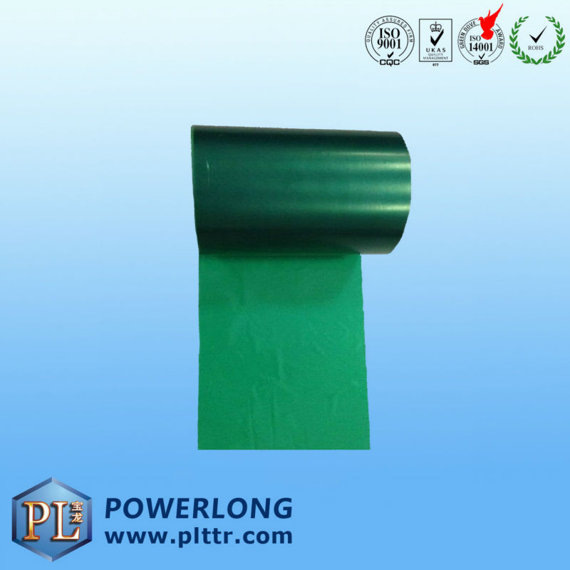 thermal green color carbon ribbon TWG10A